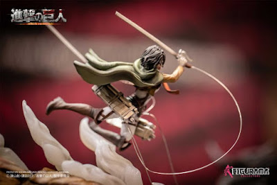 Figurama Collectors abre la reserva de la espectacular estatua de Eren Vs Armored Titan de Shingeki no Kyojin