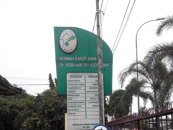 [Hospital Tour] RS Jiwa Dr. Soeharto Heerdjan