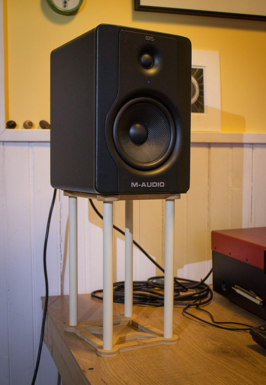 jones scott hendershot diy studio monitor isolation stands. Black Bedroom Furniture Sets. Home Design Ideas