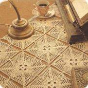Tapete Rectangular a Crochet o Ganchillo