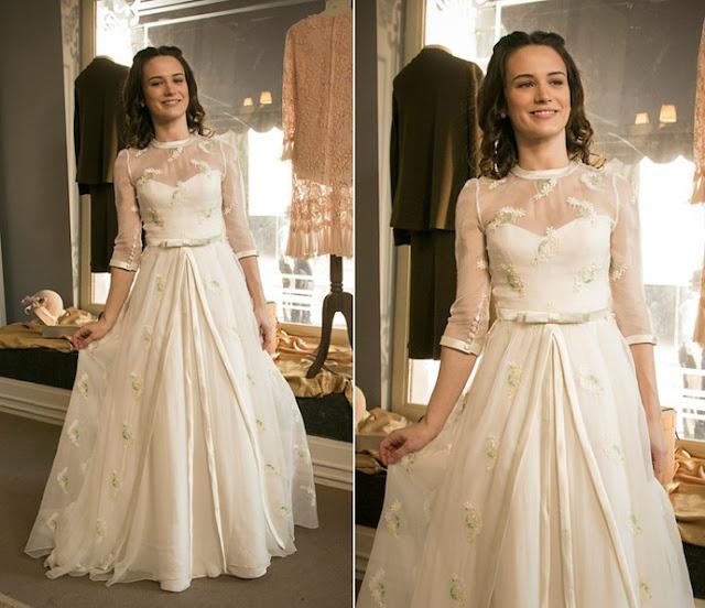 Vestido de noiva Maria (Bianca Bin) Eta mundo bom, figurino