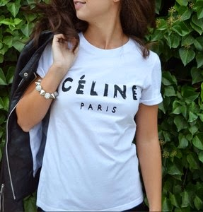 4 maneras de llevar... la camiseta Céline