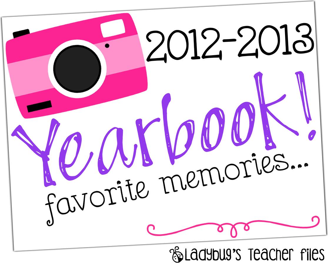 Yearbook Printable! – Ladybug's Teacher Files