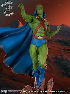 """Primeras imágenes de """" DC Super Powers"""" Martian Manhunter - Tweeterhead"""