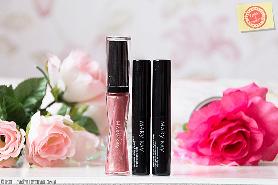 Batons e Brilho Labial Midnight Jewels - Mary Kay