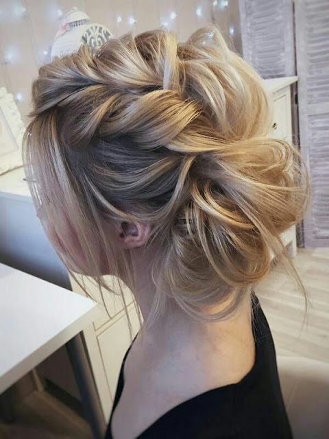 Weddings pony hairstyle