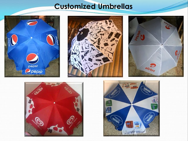 Corporate Umbrella Branding, Advertising Umbrellas with Printing,  Martketing Umbrellas with Printing, Promotional Umbrellas with Printing,- Manufacturers, Suppliers New Delhi, Supply All India