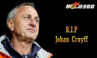 Agen Bola Terpercaya : Guardiola, Warissan Cruyff Tidak Dapat Di Nilai Dengan Trofi