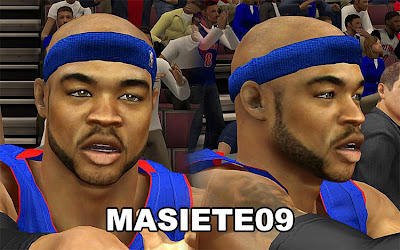 NBA 2K13 Corey Maggette Cyberface Patch
