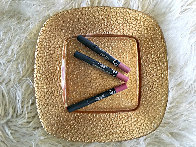 Golden Rose Matte Lipstick Crayon Product Review