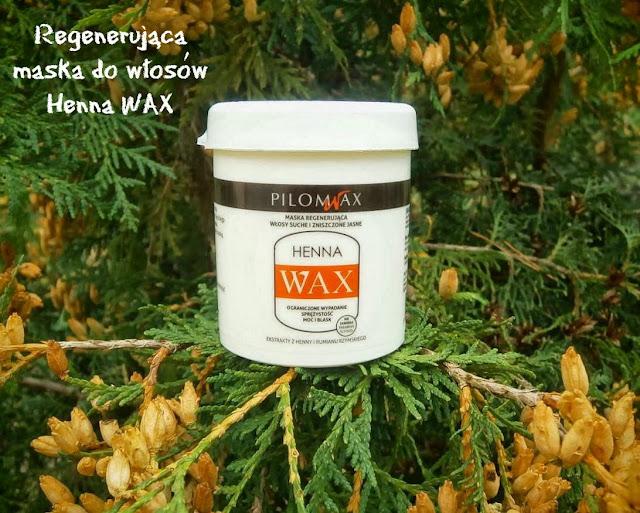Henna WAX - maska regenerująca do włosów