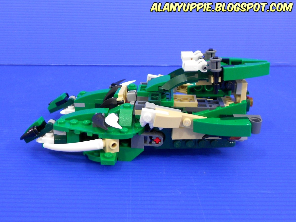 Alanyuppies Lego Transformers Creator 31058 Mighty Dinosaurs