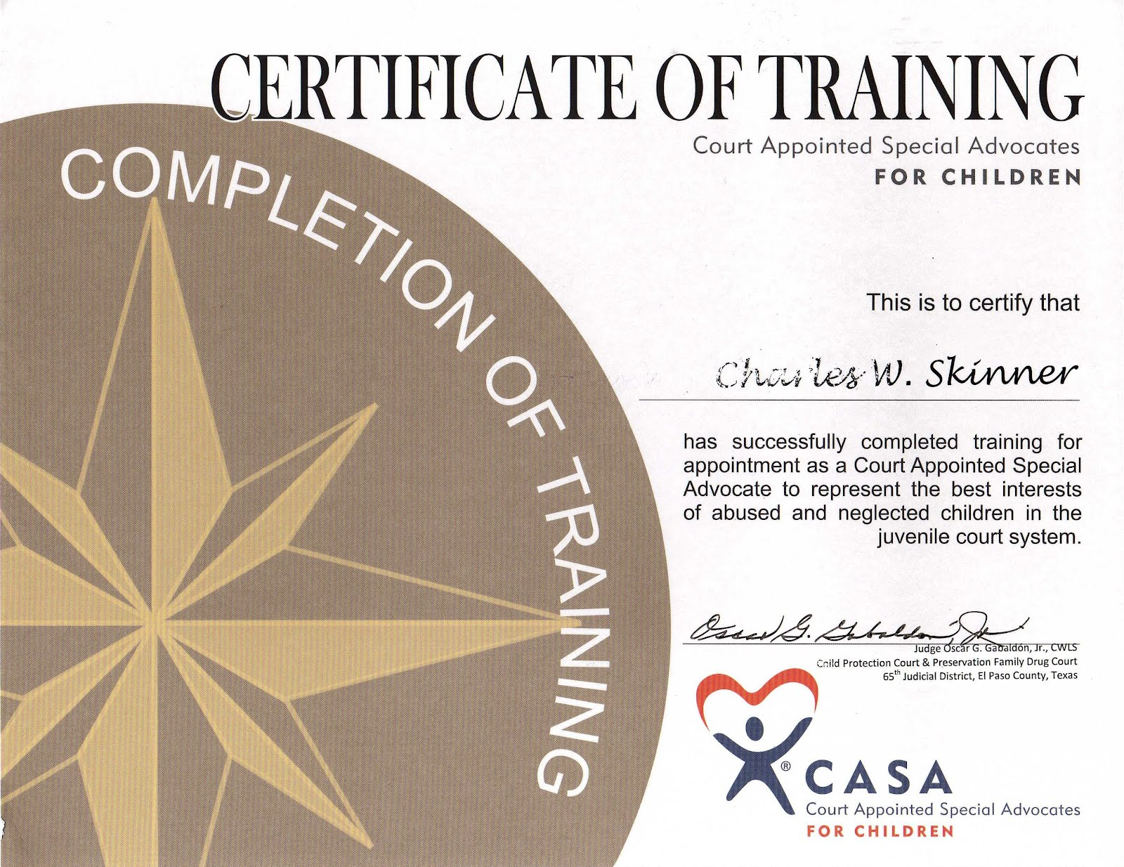 Fleeing From Utopia Specialized Training And Certificates