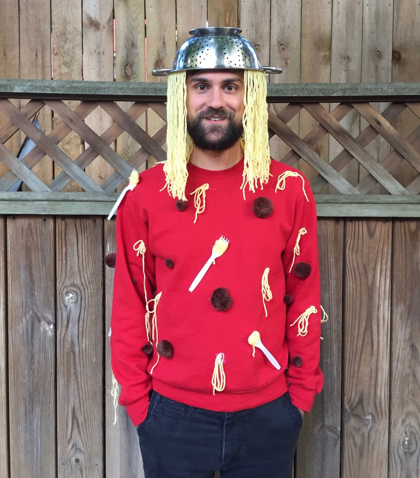 Our Halloween Costumes Spaghetti u0026 Parmesan Cheese  sc 1 st  The Surznick Common Room & Our Halloween Costumes: Spaghetti u0026 Parmesan Cheese - The Surznick ...