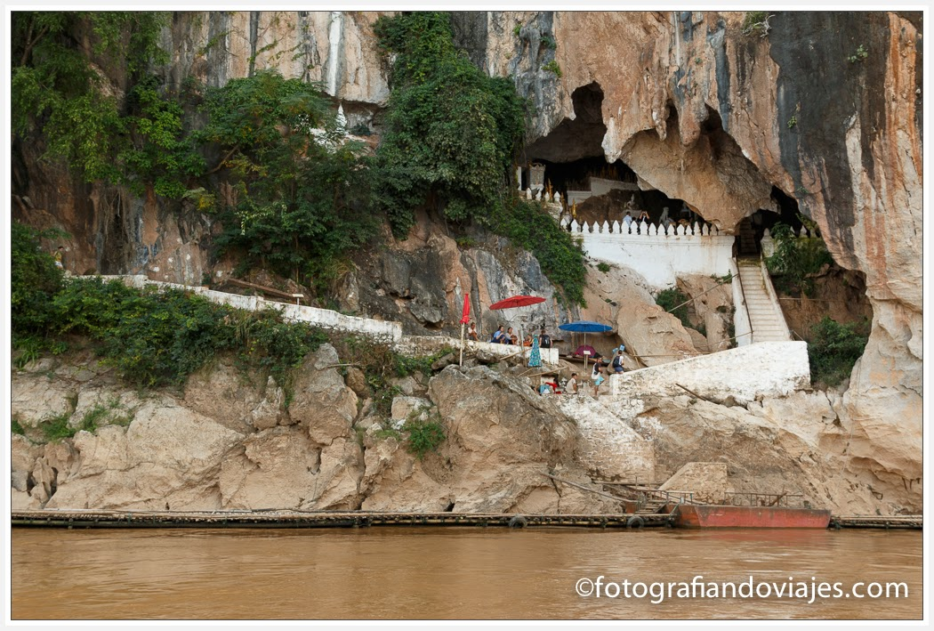 cuevas de Pak Ou en Laos