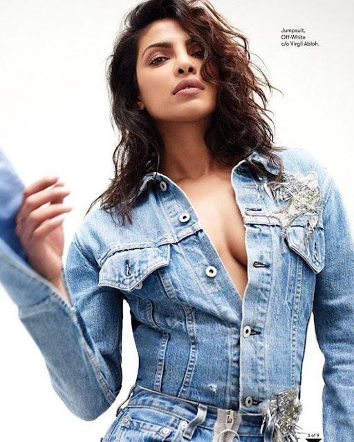 Priyanka Chopra Poses for Flare Magazine