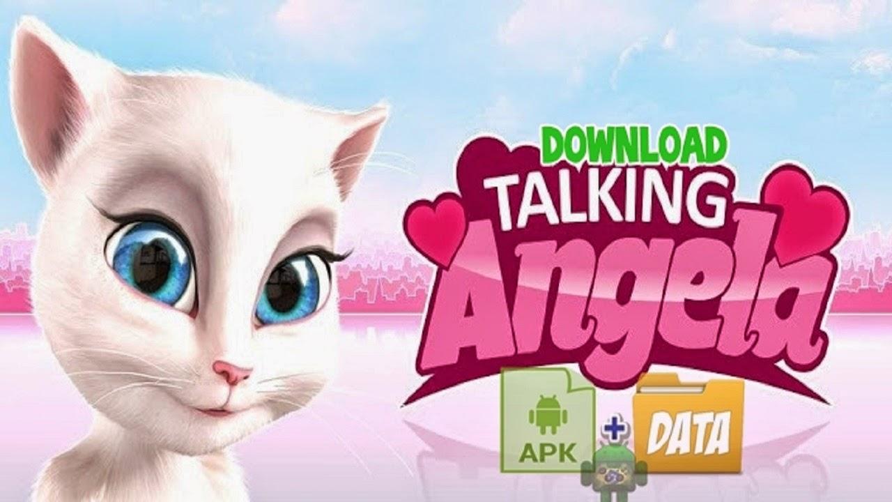 Download My Talking Angela V1 3 2 Apk Mod Diamantes