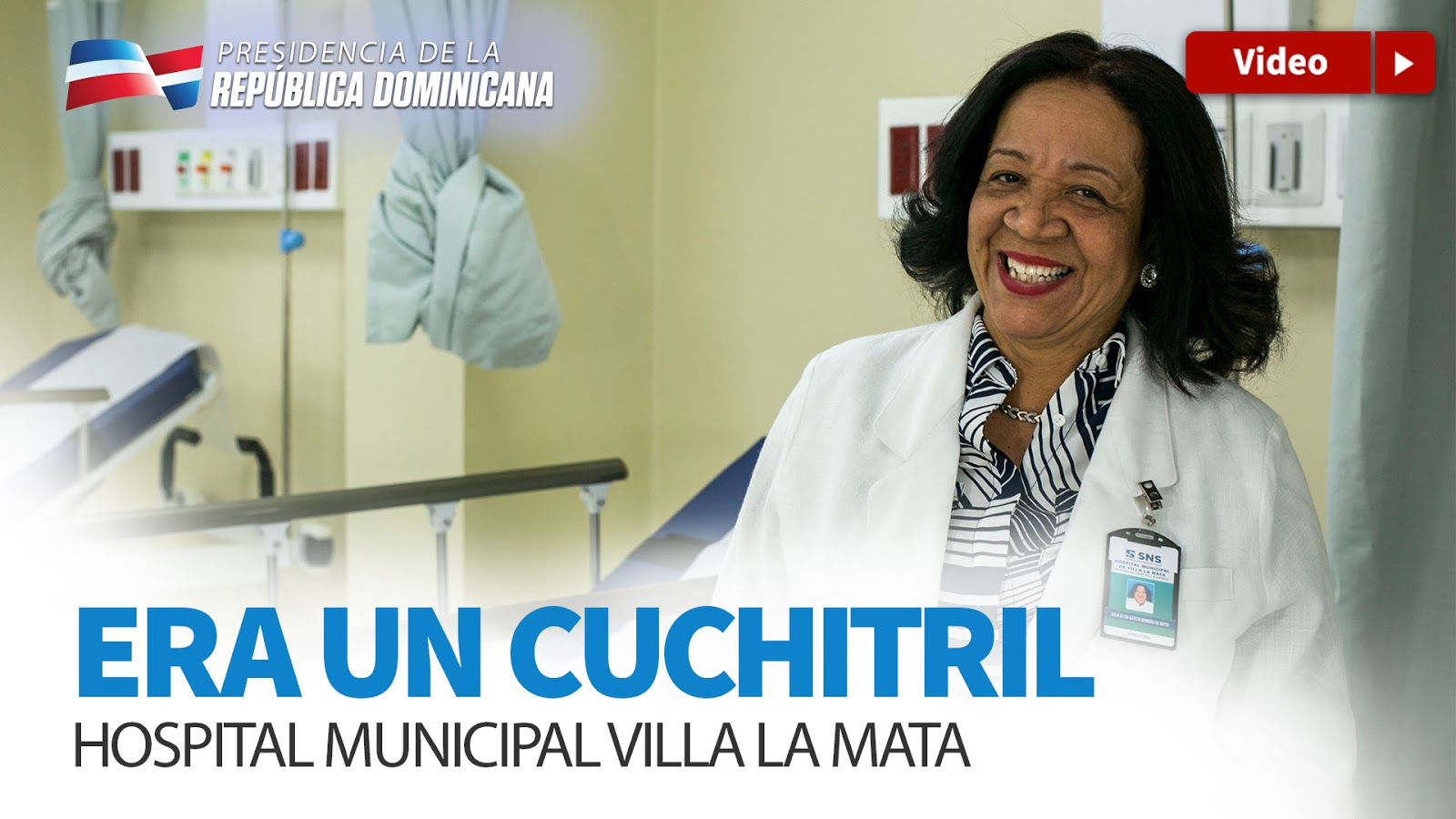VIDEO: Era un Cuchitril. Hospital Municipal Villa la Mata