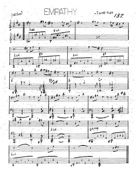 Partitura Trompeta Richard Niles