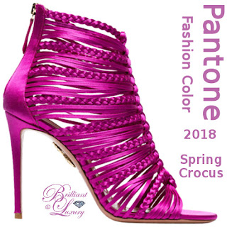 Brilliant Luxury ♦ Pantone Fashion Color ~ spring crocus