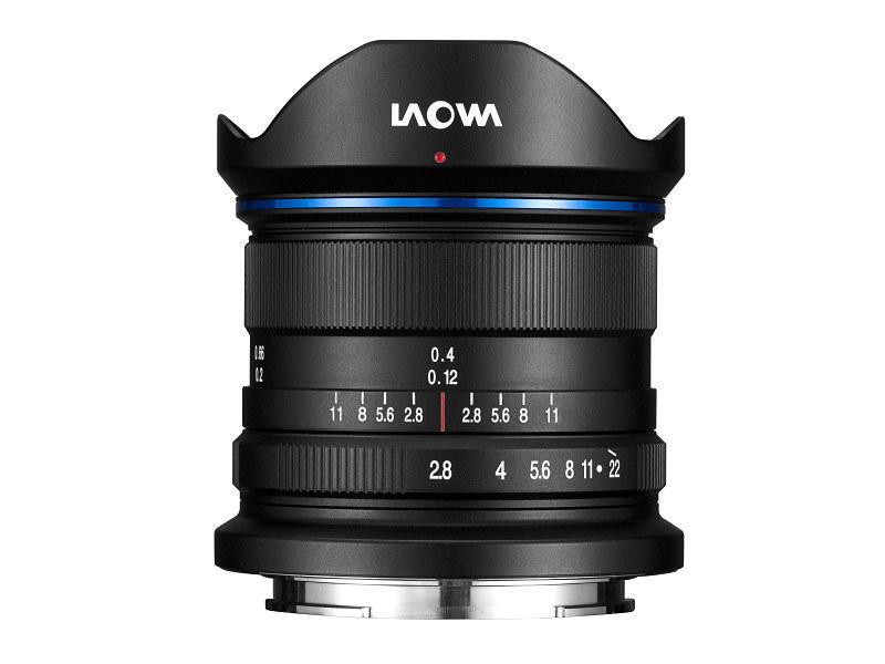 Объектив Laowa 9mm f/2.8 Zero-D, вид сбоку