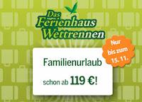 119 Euro Angebot Center Parcs