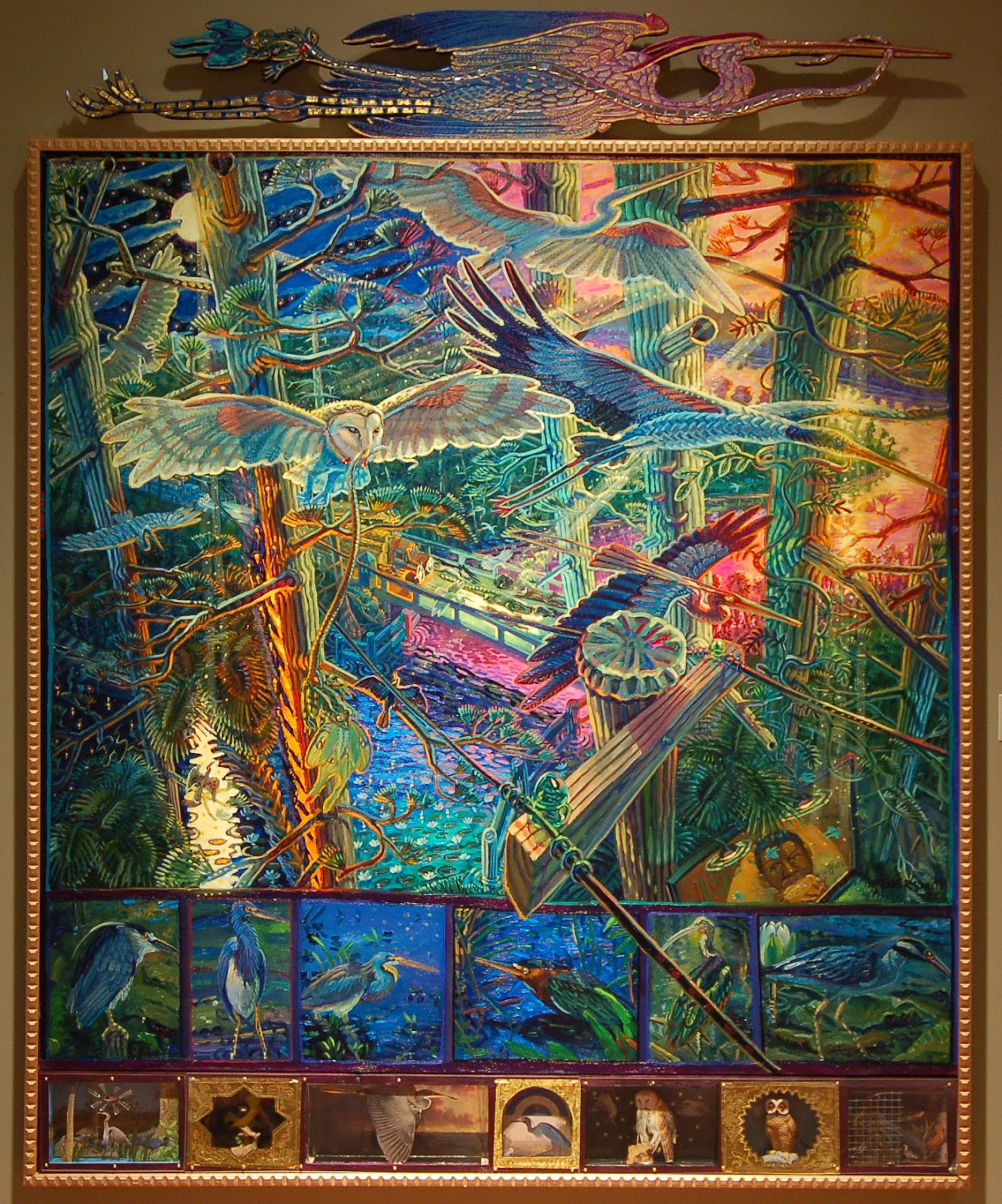 An analysis of the paintings of mark messersmith