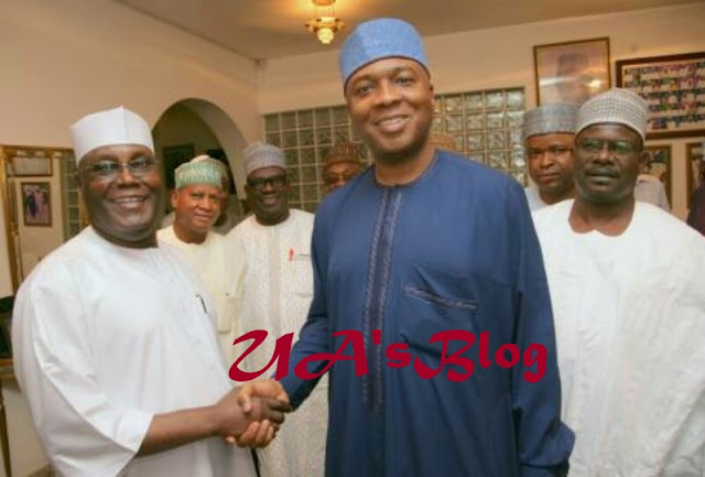 BREAKING: Atiku Names Saraki As Campaign DG