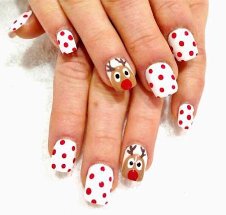 merry christmas 20 fabulous christmas nail art tutorials