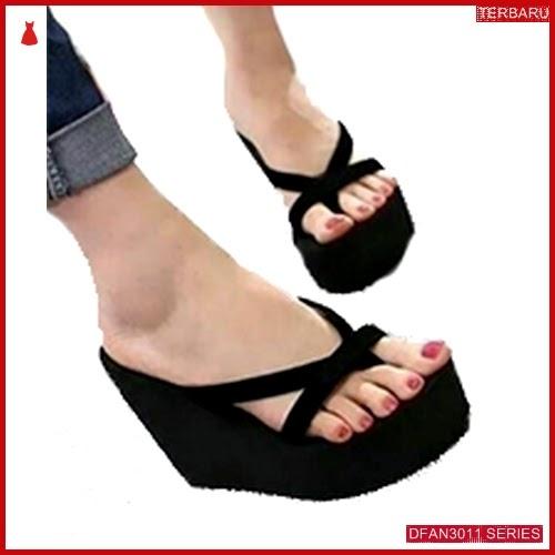 DFAN3011S37 Sepatu Dn10 Wedges Busa Wanita Ghamel Wedges BMGShop