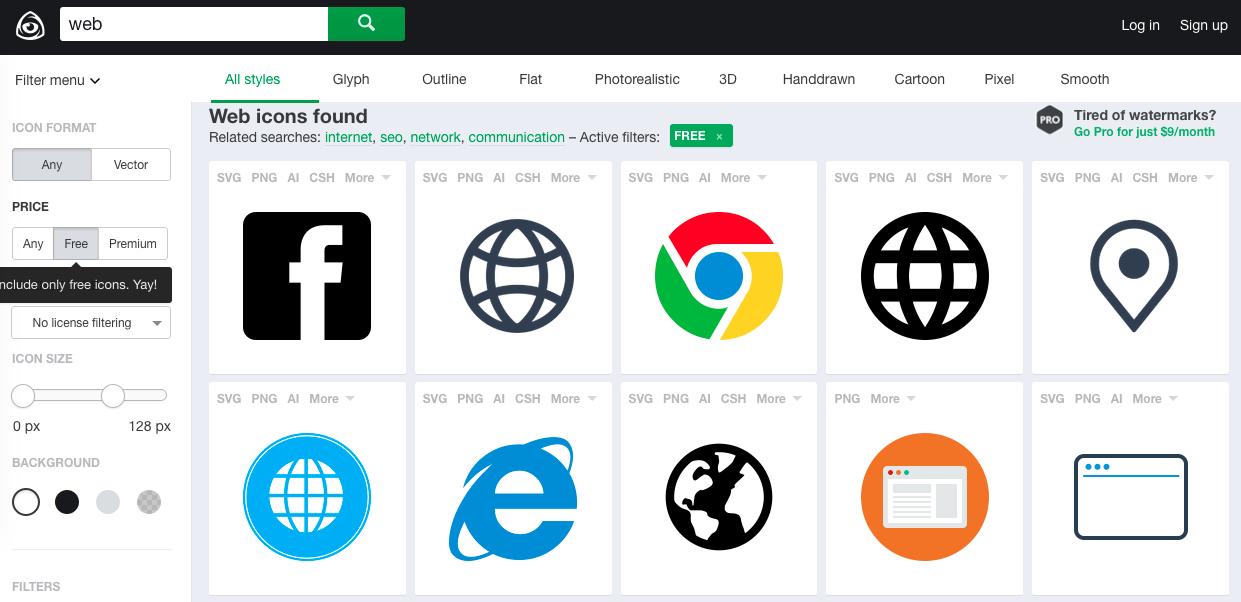 icon圖示免費下載!介面設計師用得到的9個免費圖庫 數位時代