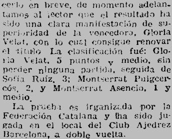 Recorte de El Mundo Deportivo, 11/3/1949
