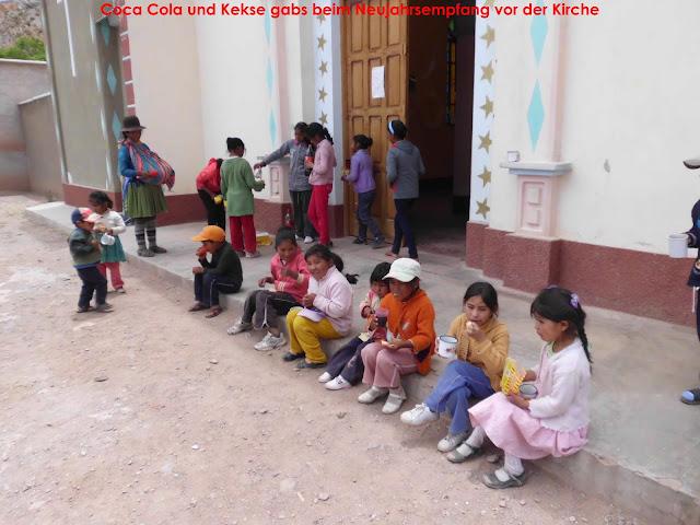 Schoko und Kekse gibt es auch in diesem Jahr für die Kinder