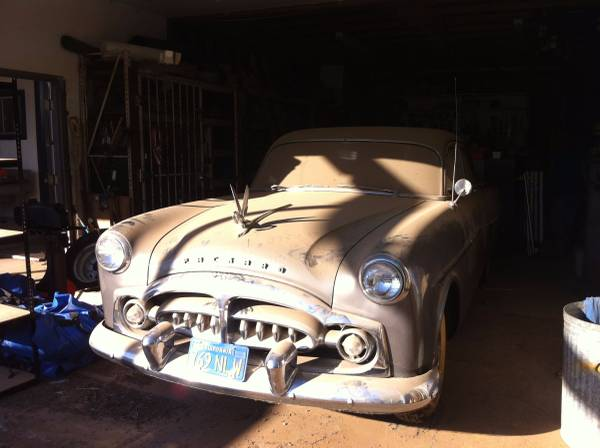 Extremely Rare Car, 1951 Packard 300