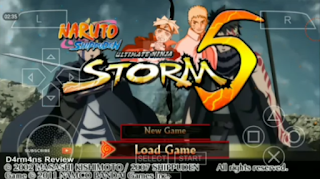 Poster Game Naruto Impact Storm 5 - PPSSPP Textures/Mod for Android