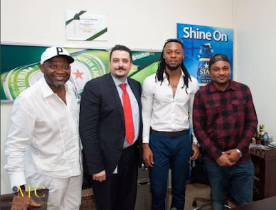 Nigeria musician Flavour seal another deal with Life beer