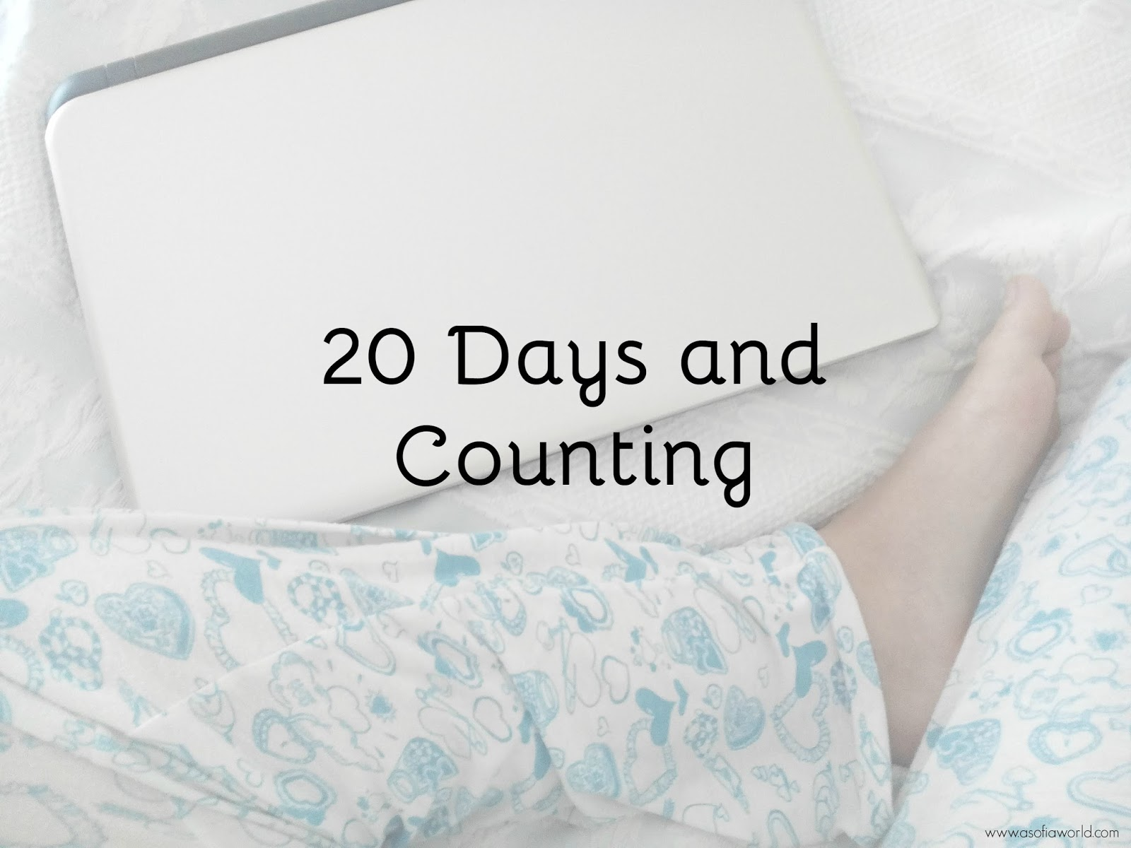 20 days of writing