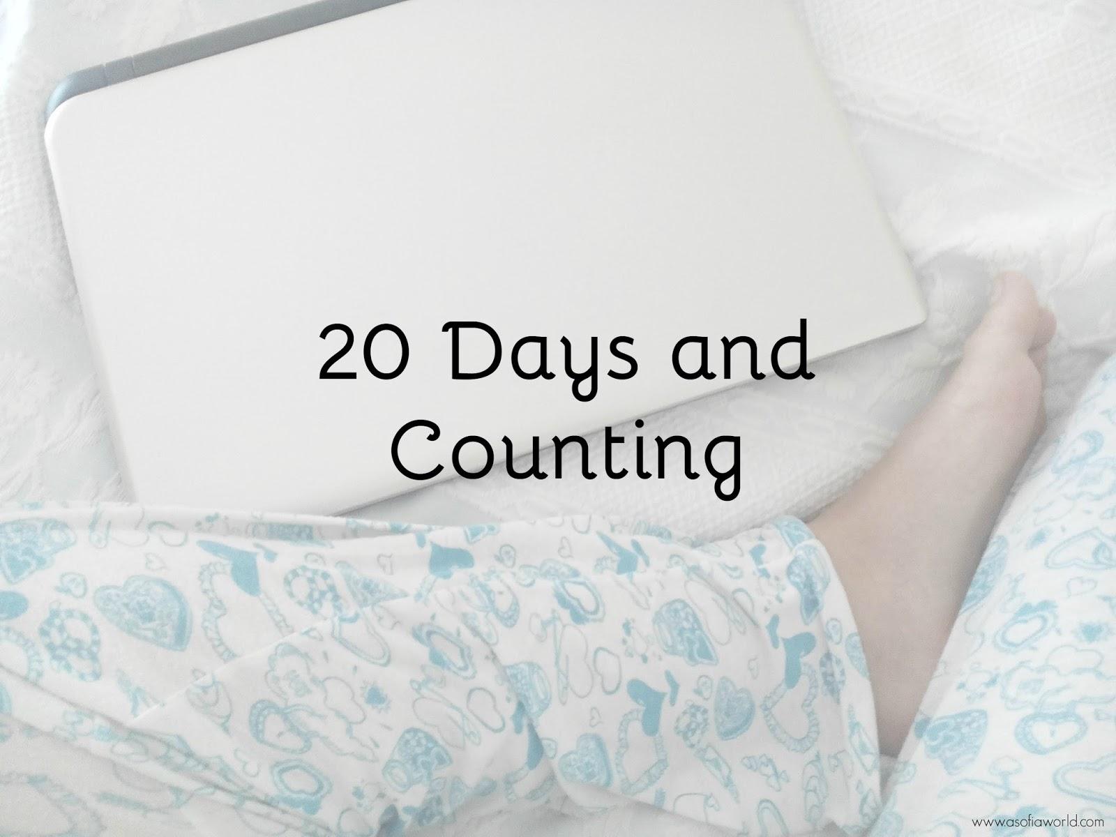 20 days of writing