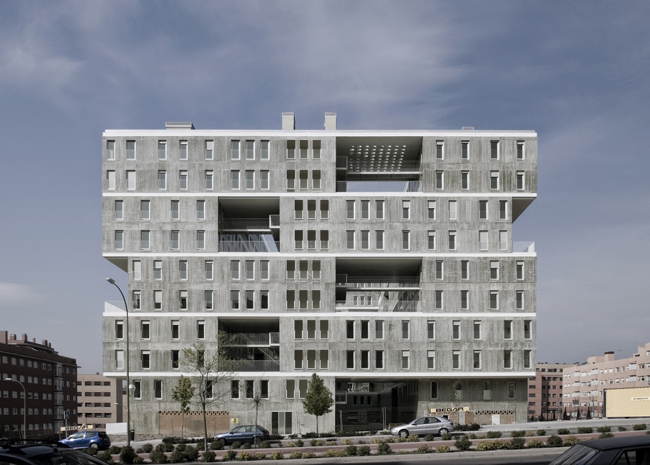Edificio celos a mvrdv blanca lle asociados aib for New house project