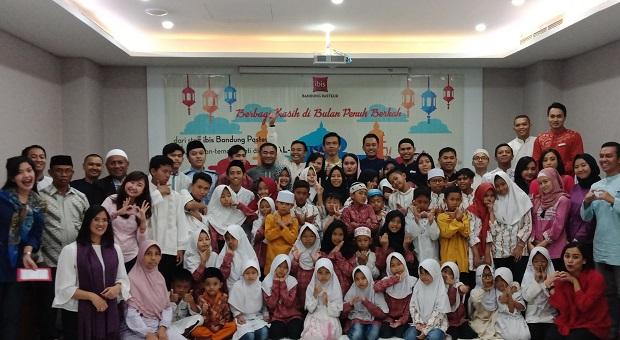 ibis Bandung Pasteur Buka Puasa Bareng 54 Anak Yatim Piatu