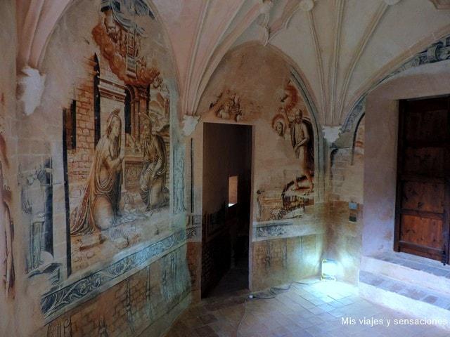 Pinturas en la Catedral de Albarracín, Aragón, Teruel