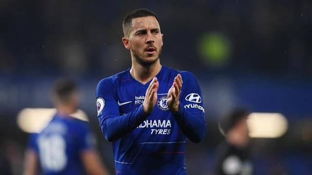 Hazard: Saya Akan Bertahan di Chelsea...Sampai Akhir Musim