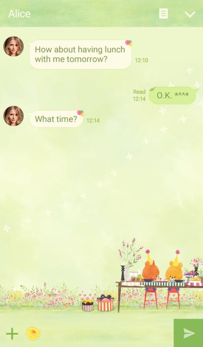 TINY☆TWIN☆BEARS: Springtime