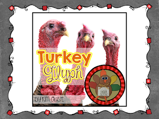 Teacherspayteachers Product Thanksgiving Turkey Glyph