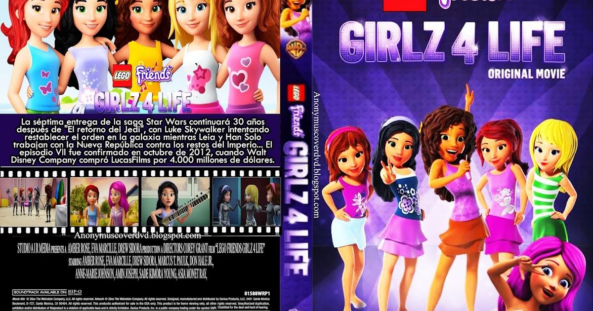 LEGO Friends: Girlz 4 Life (2016) Capa Dvd - Giga In Filmes