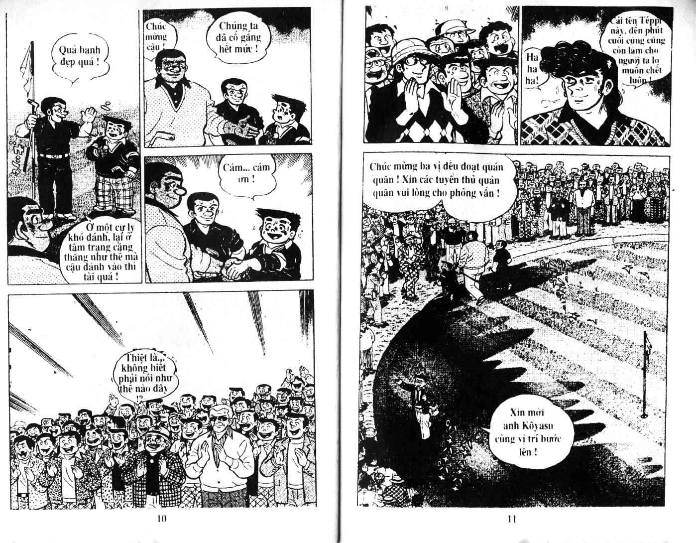 Ashita Tenki ni Naare chapter 35 trang 4