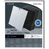 Genuine Electrolux HEPA and Carbon Filters EL024 - 1 HEPA filter, 4 carbon filters