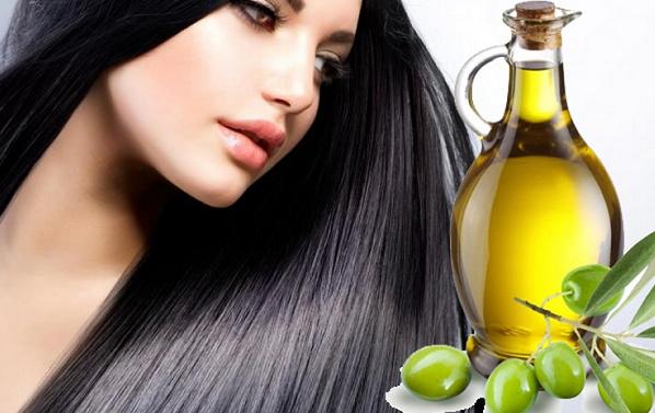 cara meluruskan rambut keriting dengan minyak goreng