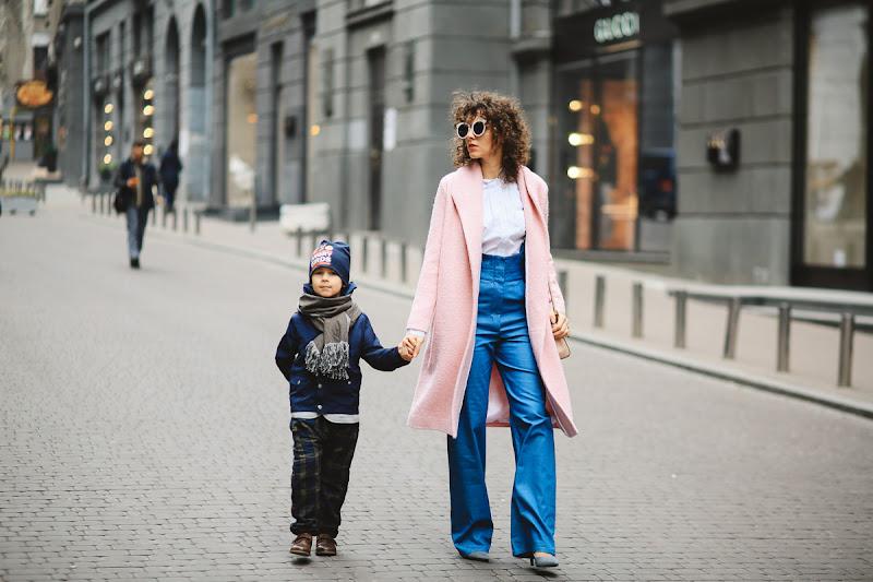 стильная мама и стильный малыш