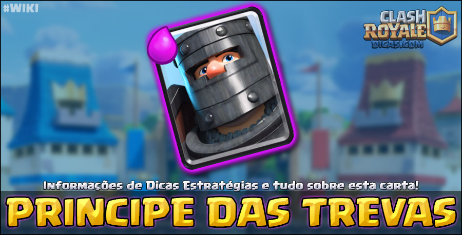 Carta do Príncipe das Trevas em Clash Royale